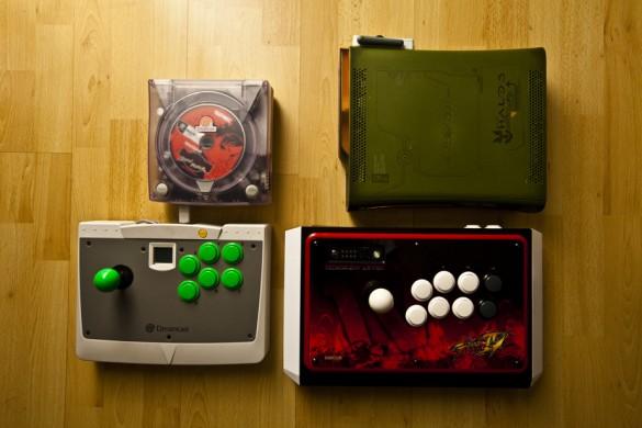 Street Fighter IV Retail Xbox360 Madcatz Official Street Fighter IV Arcade FightStick Tournament Edition - Street Fighter III 3rd Strike Sega Dreamcast Sega Arcade Stick