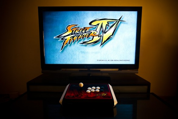Street Fighter IV Retail Xbox360 Madcatz Official Street Fighter IV Arcade FightStick Tournament Edition