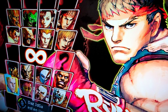 Street Fighter IV Retail Xbox 360 Character Select