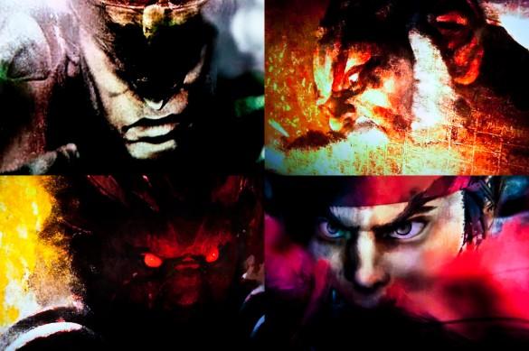 Street Fighter IV Retail Xbox 360 Intro Vega Bison Gouken Gouki Akuma Ryu