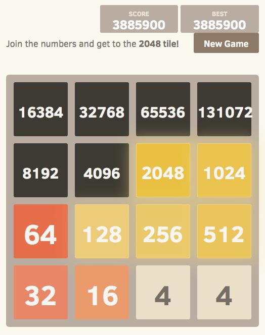 2048 jeu